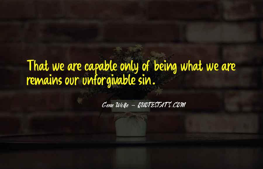 Unforgivable Sin Quotes #1271797