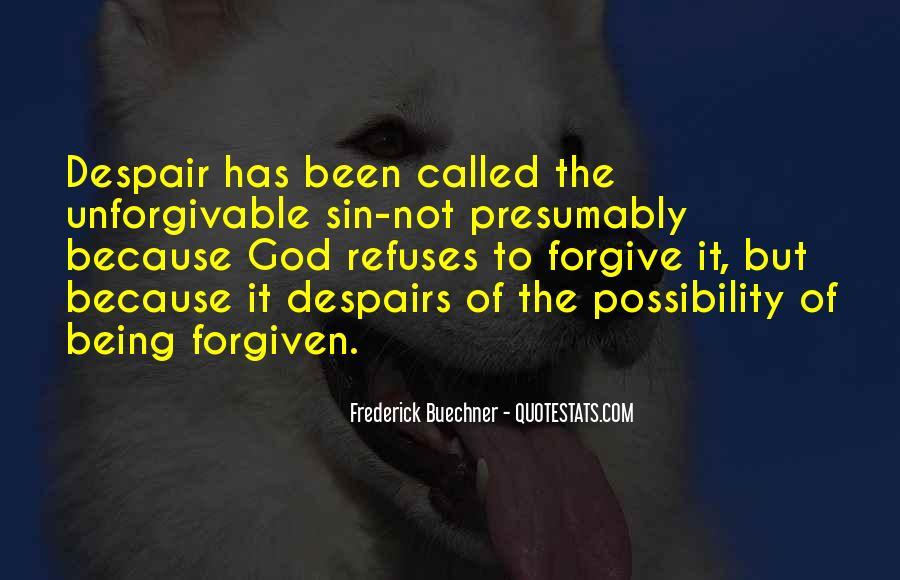 Unforgivable Sin Quotes #1345955