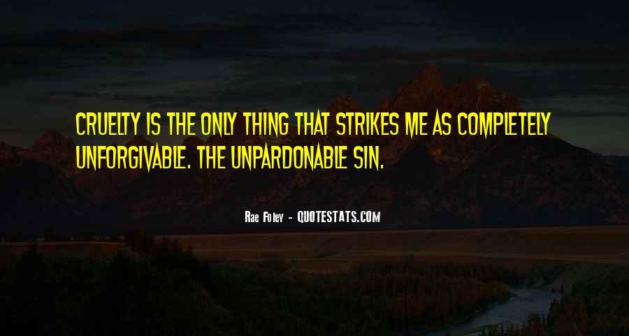 Unforgivable Sin Quotes #1462749