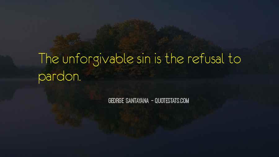 Unforgivable Sin Quotes #160323