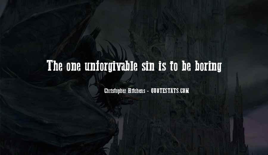 Unforgivable Sin Quotes #1645192