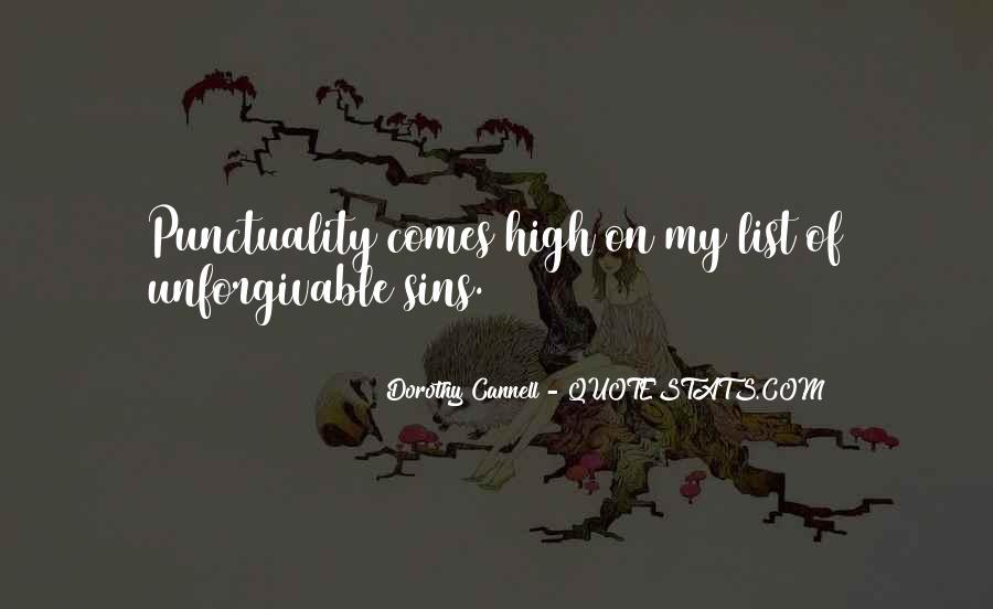 Unforgivable Sin Quotes #1683066