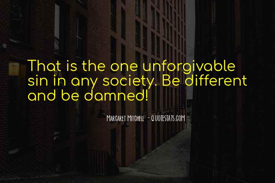 Unforgivable Sin Quotes #68239