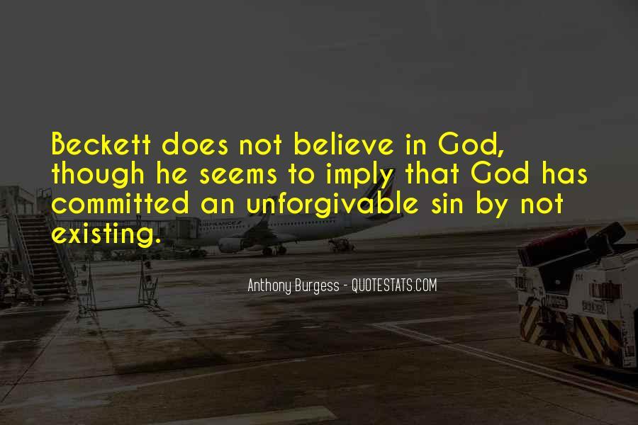 Unforgivable Sin Quotes #789395