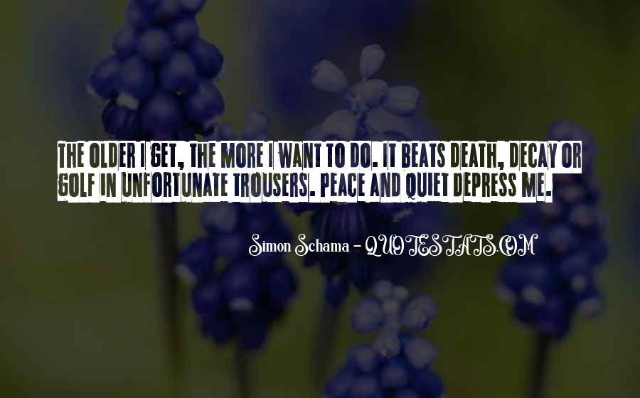 Unfortunate Death Quotes #37589