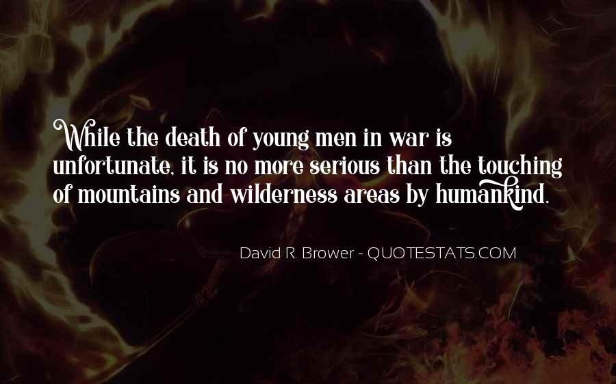 Unfortunate Death Quotes #93451