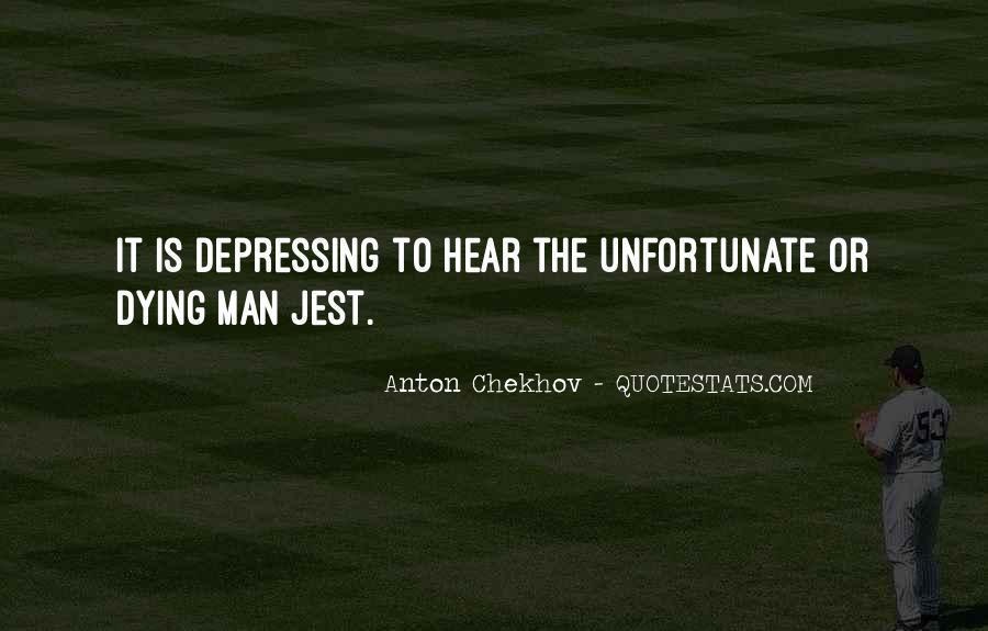 Unfortunate Death Quotes #949571