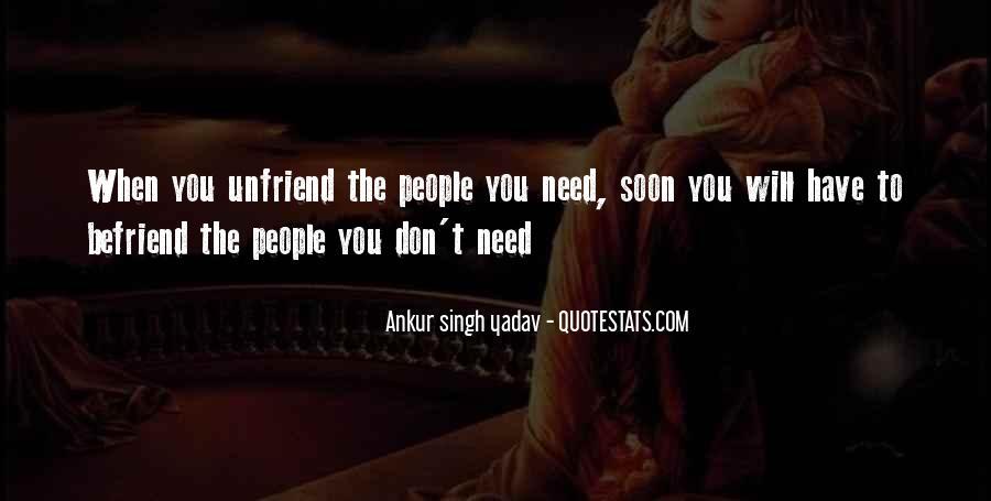 Unfriend Me Quotes #1245714