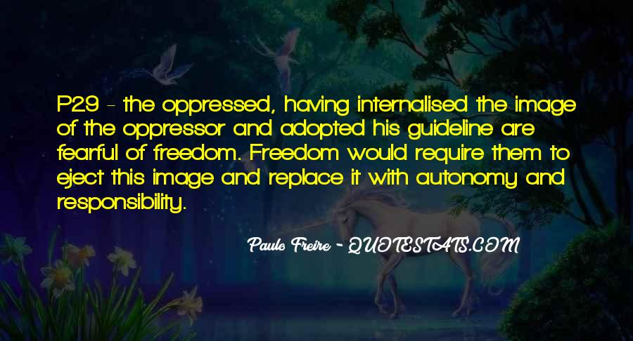 Quotes About Oppressed And Oppressor #186497