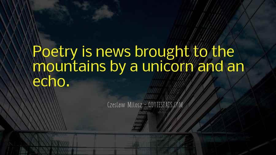 Unicorn Poetry And Quotes #1663782