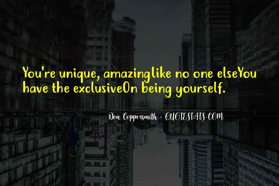 Unique And Amazing Quotes #254914