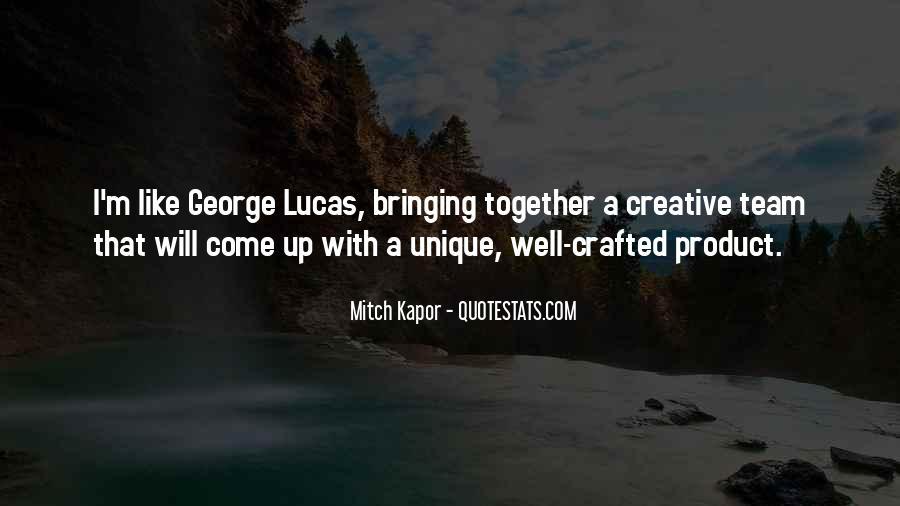 Unique And Creative Quotes #1846633