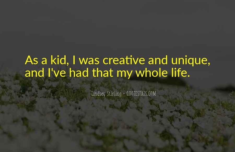 Unique And Creative Quotes #286986