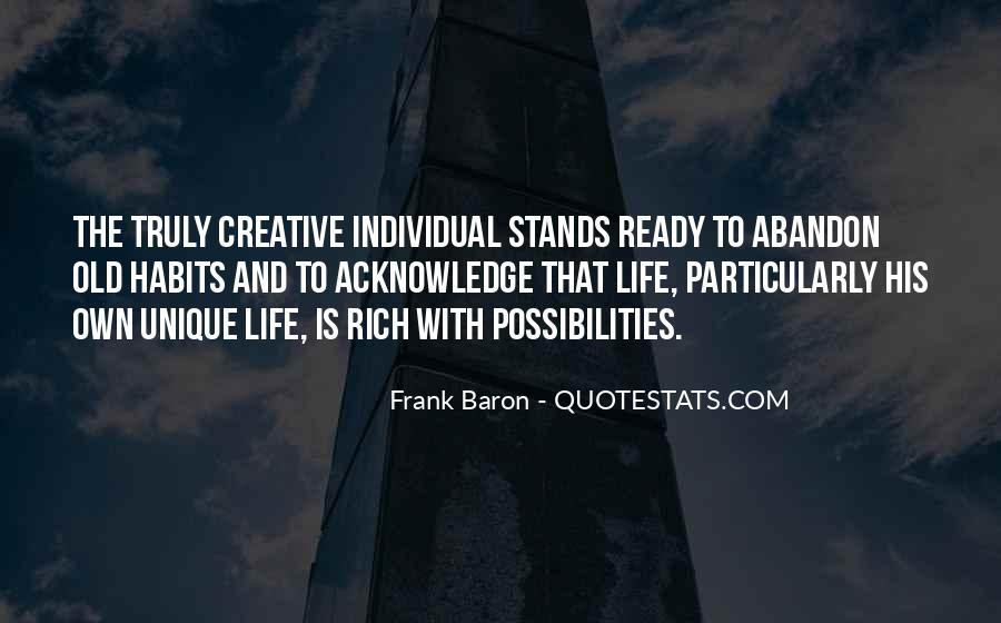 Unique And Creative Quotes #380061