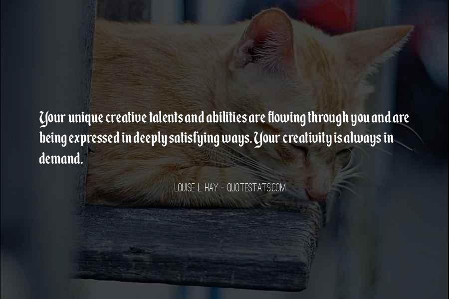Unique And Creative Quotes #514095