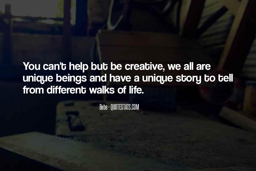 Unique And Creative Quotes #75363