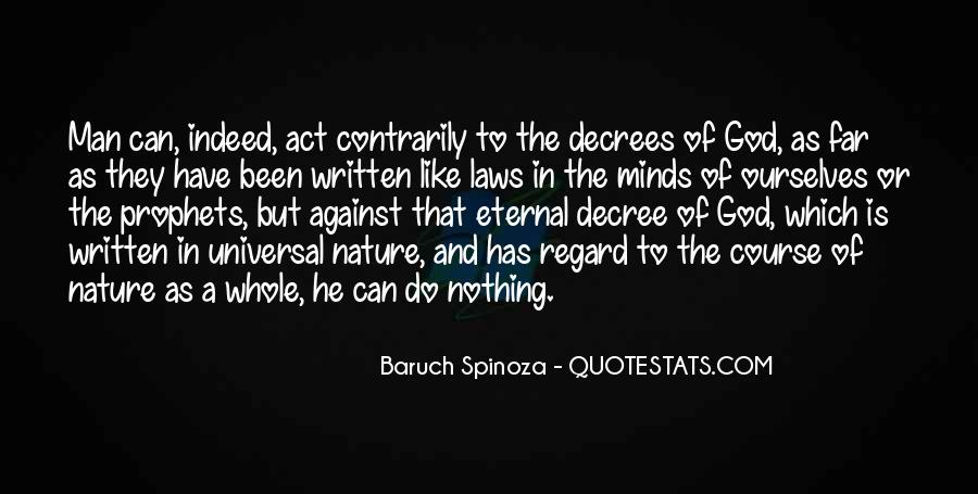 Universal Laws Of Nature Quotes #1023550