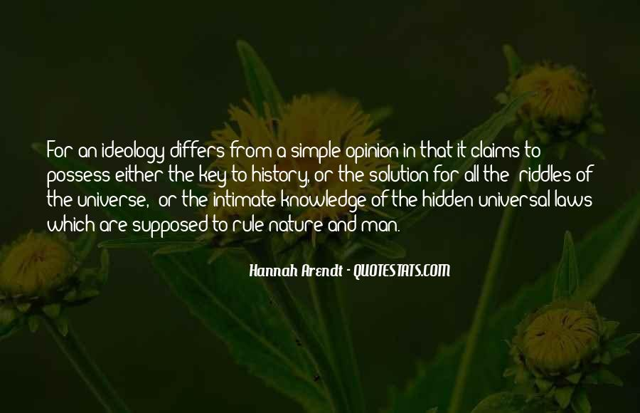 Universal Laws Of Nature Quotes #1290962