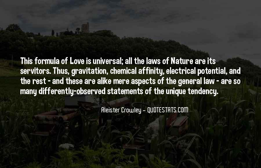Universal Laws Of Nature Quotes #1389484