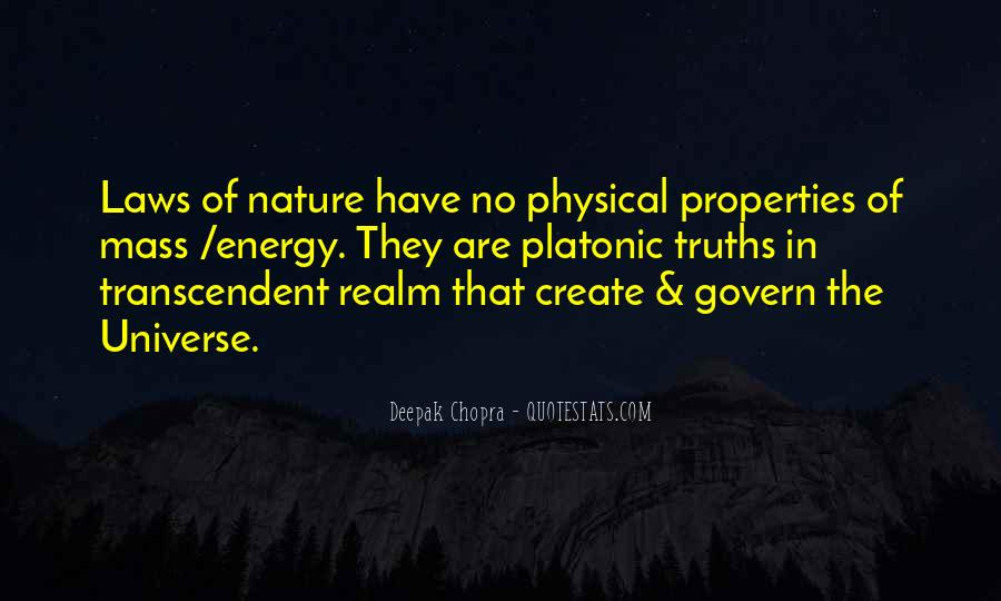 Universal Laws Of Nature Quotes #141133