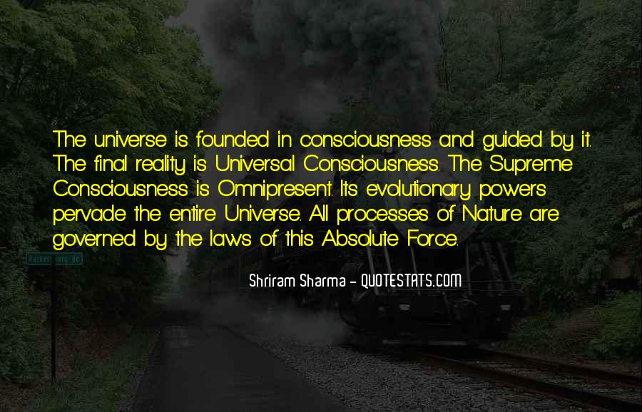 Universal Laws Of Nature Quotes #1483149