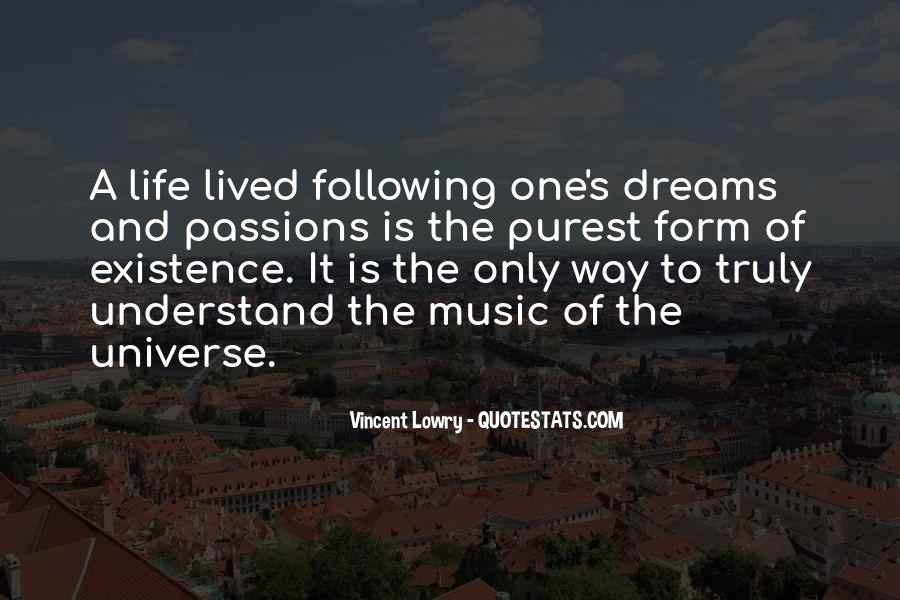 Universe And Music Quotes #1103647