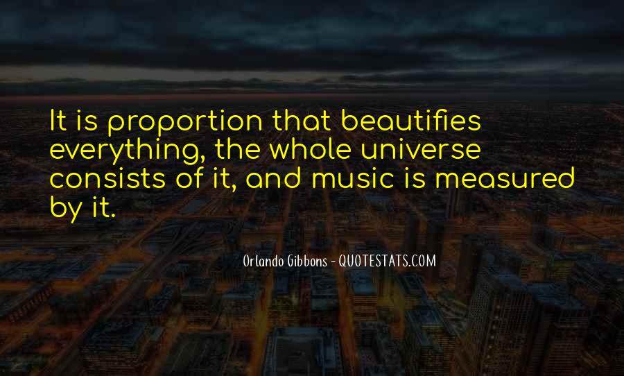 Universe And Music Quotes #1137544