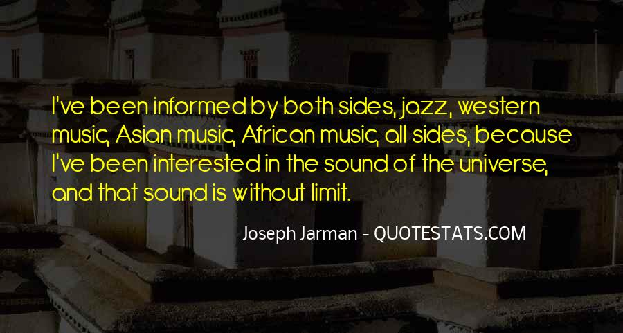Universe And Music Quotes #1194182
