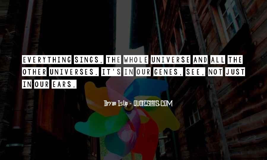 Universe And Music Quotes #1205923