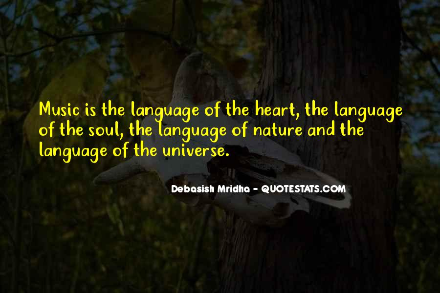 Universe And Music Quotes #1208452