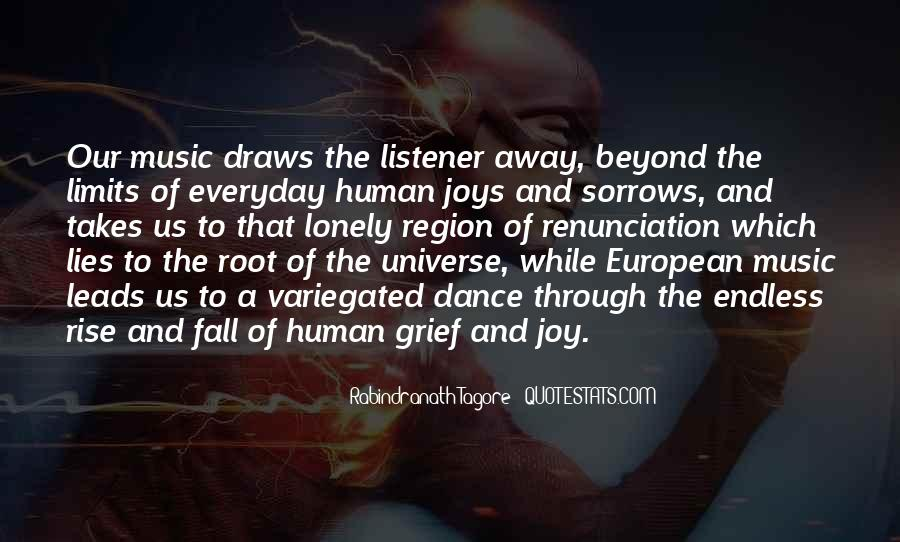 Universe And Music Quotes #126095