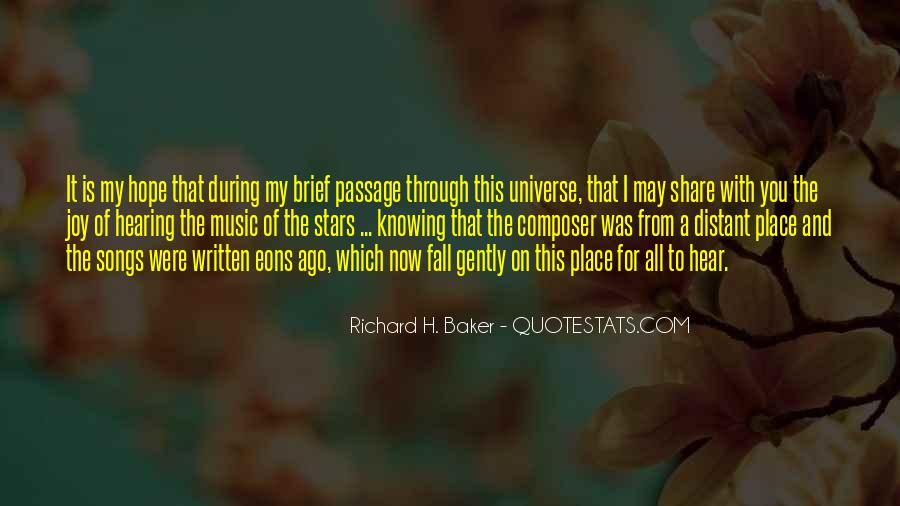Universe And Music Quotes #1660080