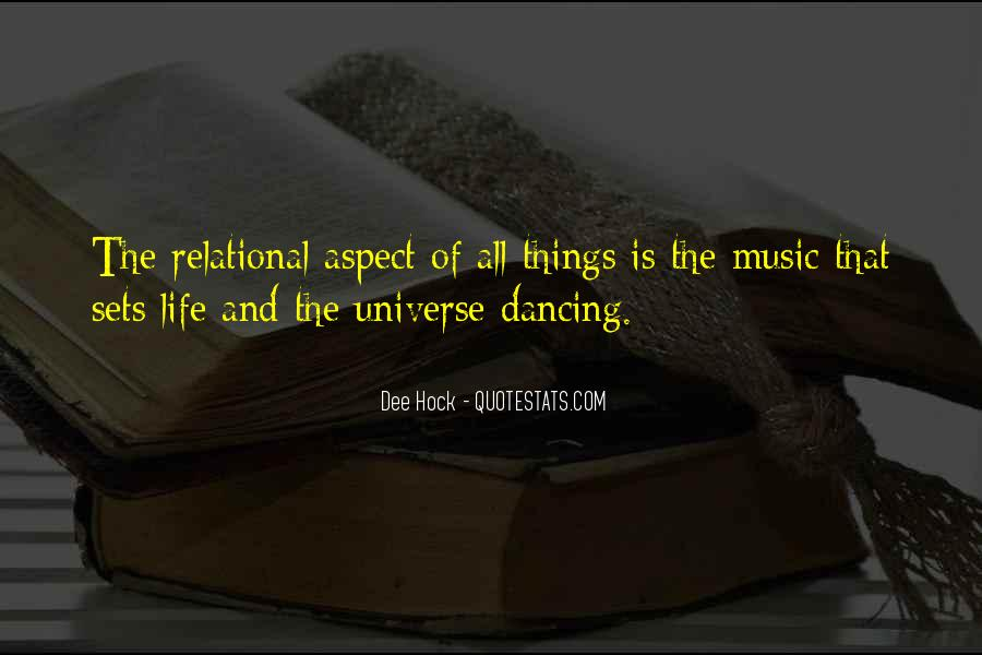 Universe And Music Quotes #1822922