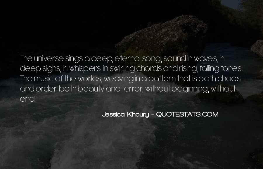 Universe And Music Quotes #279885