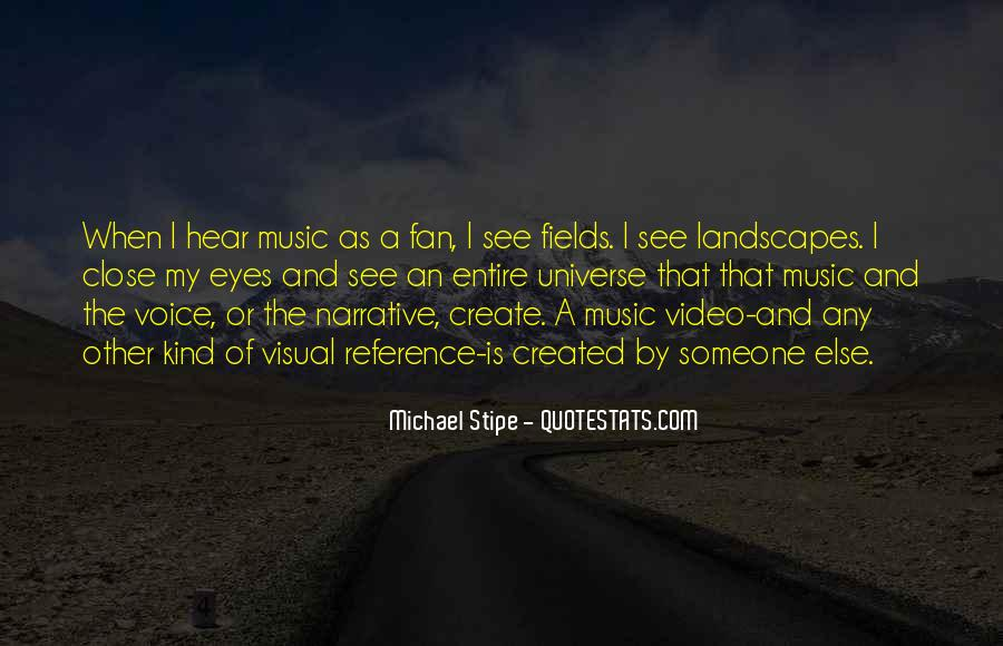 Universe And Music Quotes #319476
