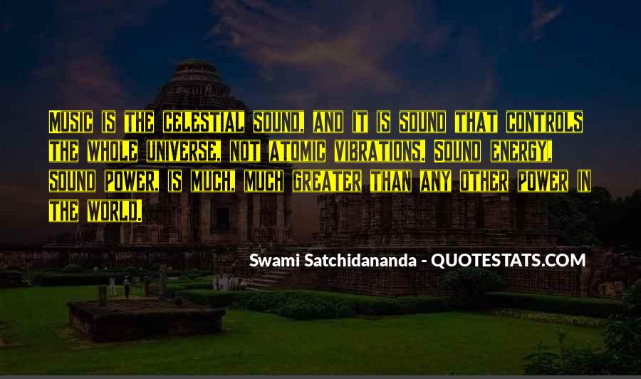 Universe And Music Quotes #494708