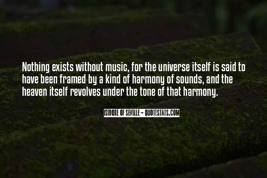 Universe And Music Quotes #513441