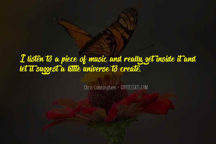 Universe And Music Quotes #704512