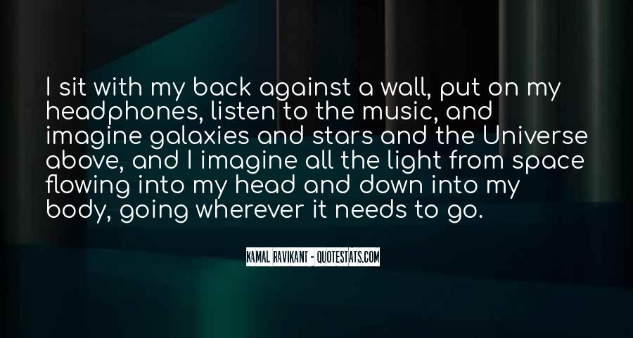 Universe And Music Quotes #758805