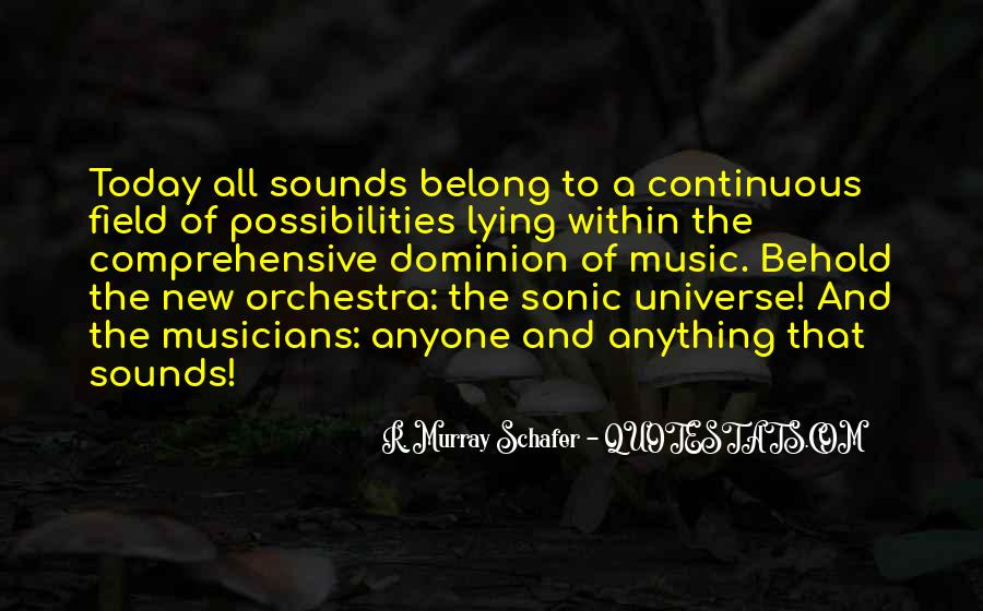 Universe And Music Quotes #908698