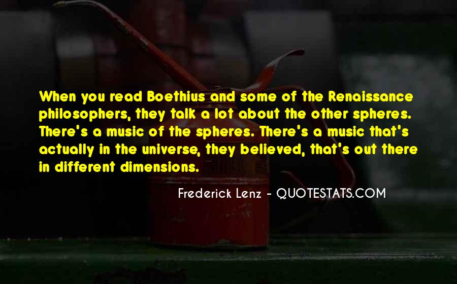 Universe And Music Quotes #909120