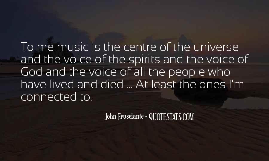Universe And Music Quotes #959937
