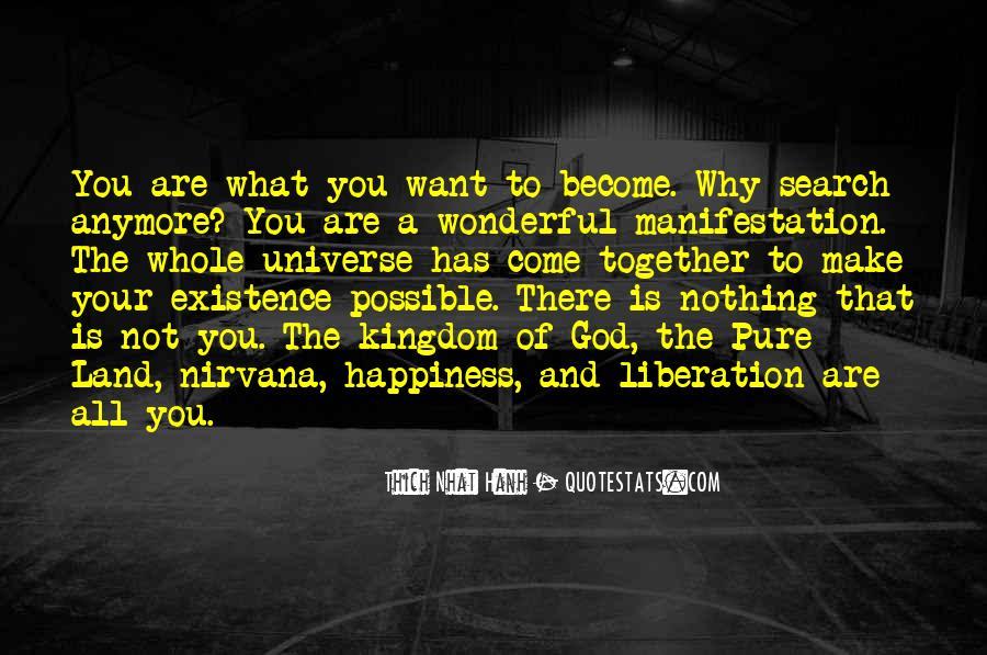 Universe Manifestation Quotes #1049198