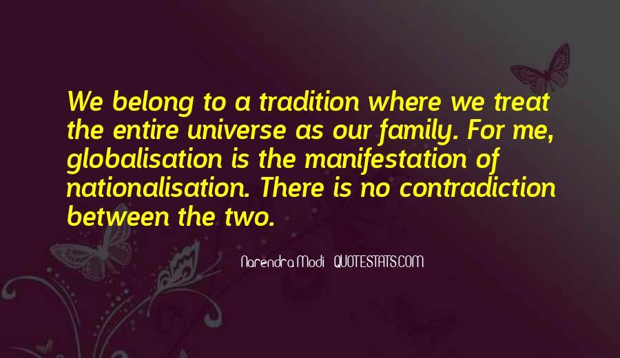 Universe Manifestation Quotes #1271928
