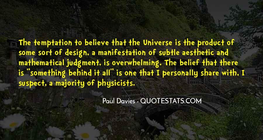Universe Manifestation Quotes #1732892