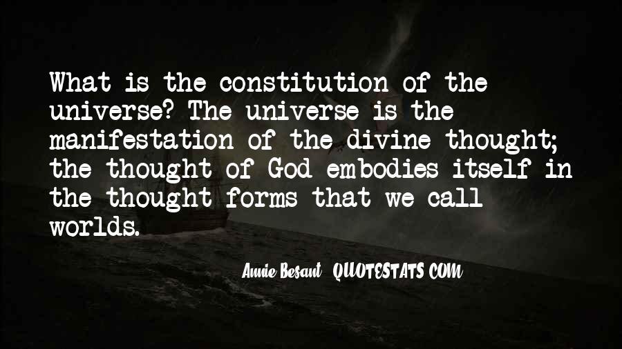 Universe Manifestation Quotes #258243
