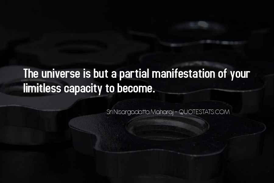 Universe Manifestation Quotes #667785