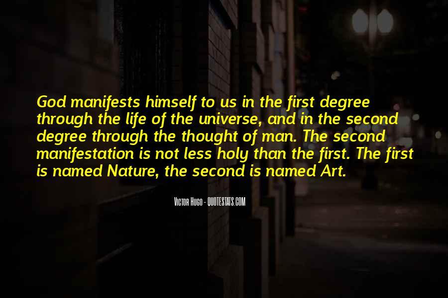 Universe Manifestation Quotes #682992