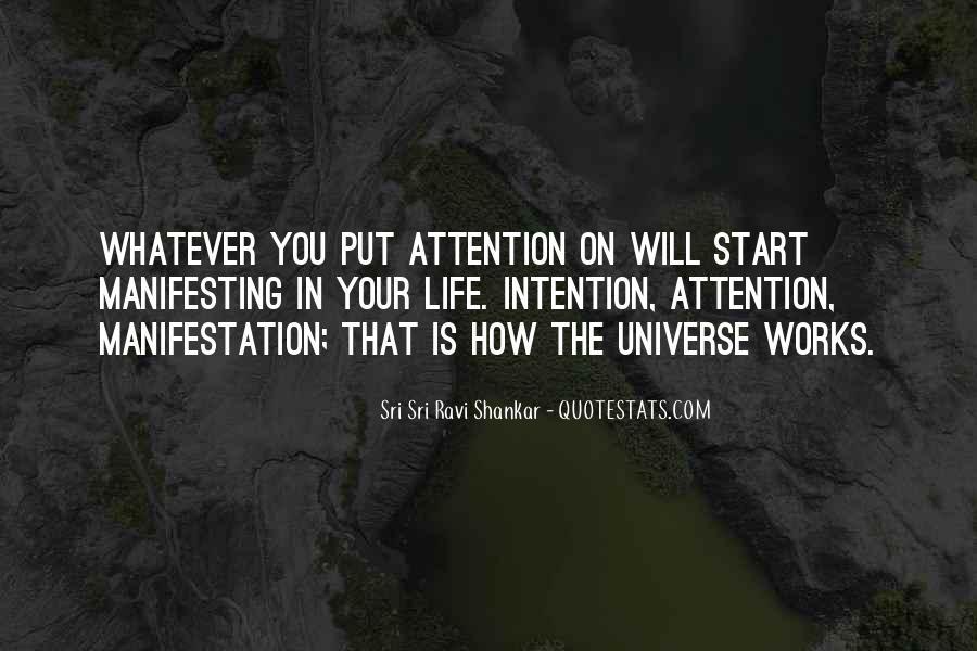 Universe Manifestation Quotes #911783