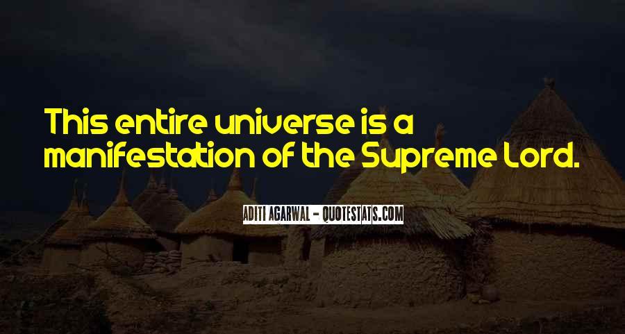 Universe Manifestation Quotes #931174